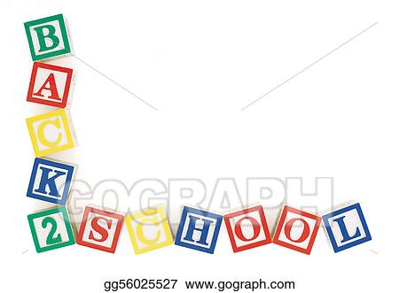 Stock Image Back 2 School Frame Stock Photo Gg56025527 Gograph