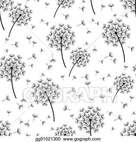 Vector Illustration Background Seamless Pattern With