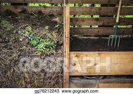 Backyard Bins stock images - backyard compost bins. stock photography gg76212243