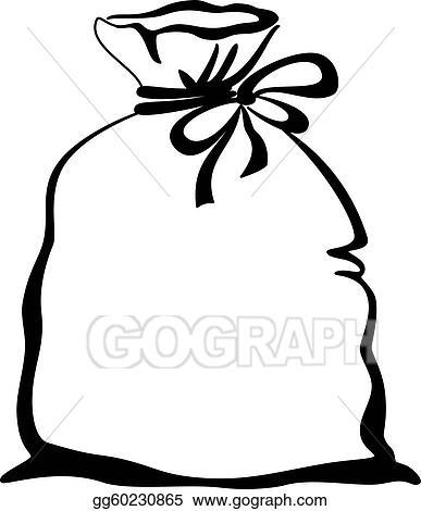 eps vector bag empty pictogram stock clipart illustration rh gograph com