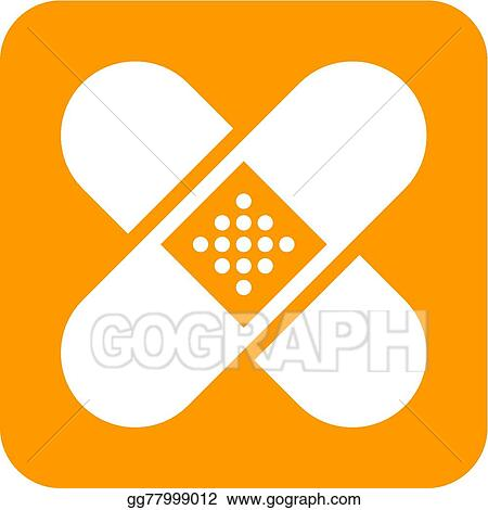 Vector Illustration Band Aid Eps Clipart Gg77999012 Gograph