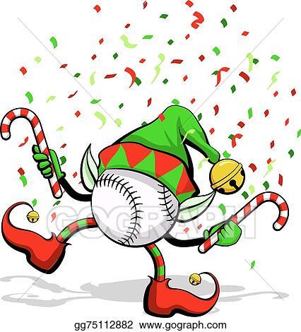baseball christmas elf - Baseball Christmas