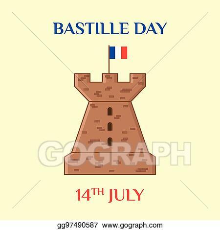 Vector clipart bastille day vector illustration gg97490587 gograph bastille day m4hsunfo