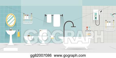 Bathroom Furniture Display Panorama