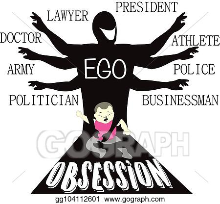 Eps Illustration Be My Ego Vector Clipart Gg104112601 Gograph