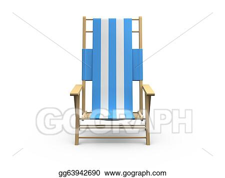 drawing beach chair clipart drawing gg63942690 gograph