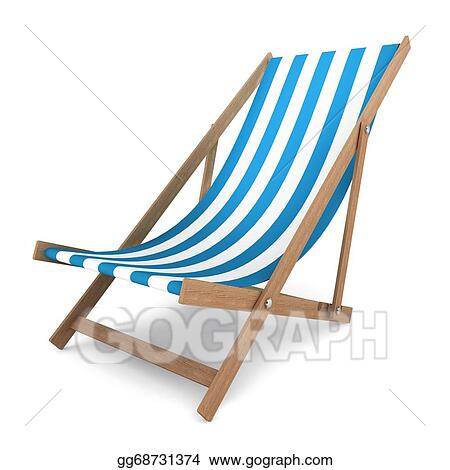 drawing beach chair clipart drawing gg68731374 gograph