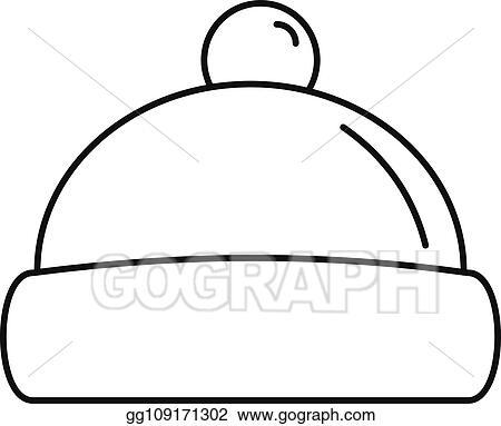 Vector Art - Beanie hat icon 75af62ebd7a