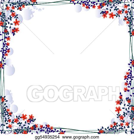 Stock Illustrations - Beautiful frame . Stock Clipart gg54935254 ...
