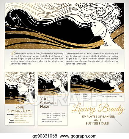 Woman Face Silhouette Abstract Design For Beauty Salon And Spa Cosmetics Fashion Themes Vector Logo