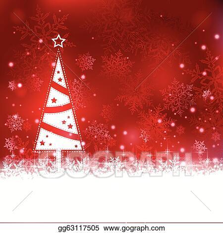Christmas Background Clipart.Vector Art Beautiful Soft Red Christmas Background With