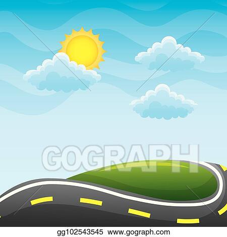 Roads Clip Art Beautiful