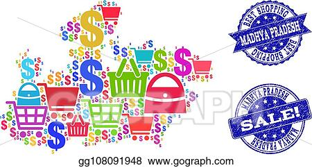 Vector Art - Best shopping collage of mosaic map of madhya ... on jharkhand state map, gujarat state map, orissa state map, bihar state map, haryana state map, chhattisgarh state map, kerala state map, assam state map, tamil nadu state map, telangana state map, bengal state map, maharashtra state map, karnataka state map, punjab state map, uttaranchal state map, andhra state map,