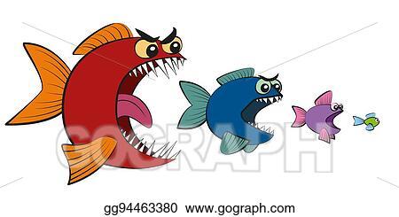 Vector clipart big fish eating small fish comic vector big fish eating small fish comic thecheapjerseys Choice Image