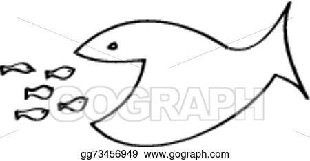 Vector stock big fish eating small fish stock clip art gg73456949 big fish eating small fish thecheapjerseys Choice Image