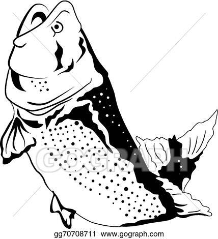 Eps vector big fish jumping stock clipart illustration gg70708711 big fish jumping thecheapjerseys Choice Image