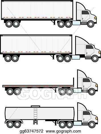 Semi - 18 Wheeler Cake Trucks - Free Transparent PNG Clipart Images Download