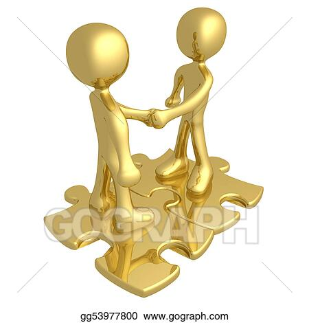 Stock Illustration Binding Agreement Clipart Gg53977800 Gograph