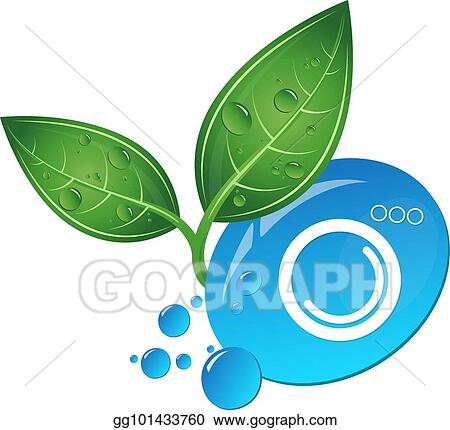 Vector Art Bio Cleaning Symbol For Business Clipart Drawing