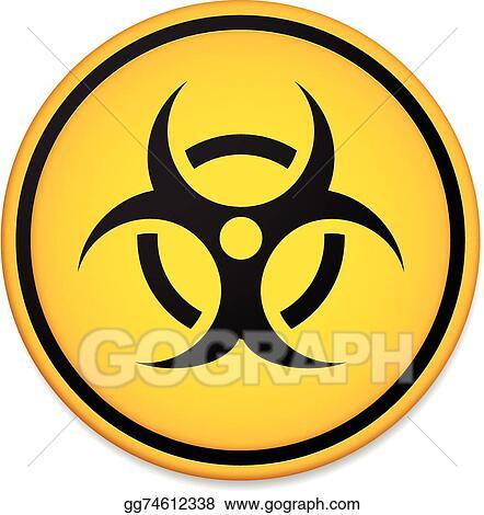 Vector Art Biohazard Symbol Sign Biohazard Symbol Sign Eps
