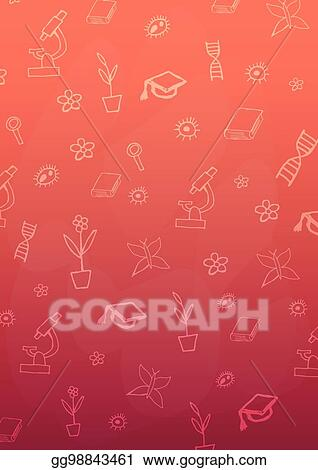 Vector Stock Biology Subject Back To School Background Education Banner Clipart Illustration Gg98843461 Gograph
