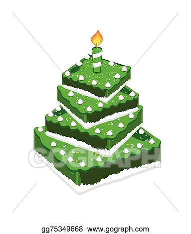 Eps Vector Birthday Cake Vector Stock Clipart