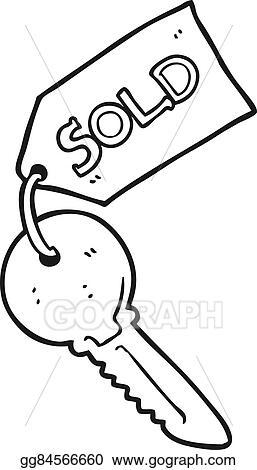 eps vector black and white cartoon new house key stock clipart Cartoon Black and White Schoolhouse black and white cartoon new house key