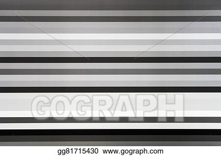 Drawing - Black and white tv lines static noise  Clipart