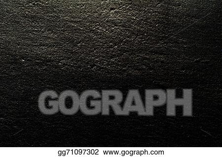 Drawings - Black canvas background illuminated from and