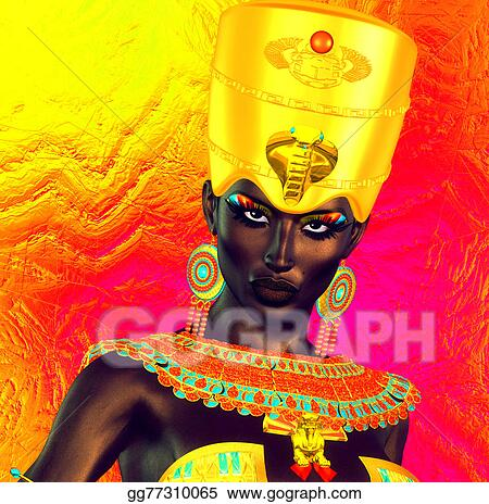Egyptian Princess Fantasy Art