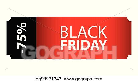 Eps Illustration Black Friday Special Event Ticket Movie Night Vector Clipart Gg98931747 Gograph