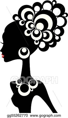 Girl afro clipart black Divas African