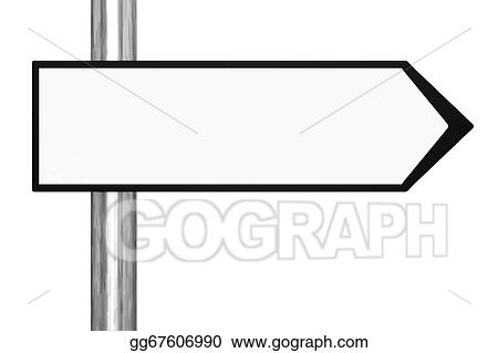 drawing blank black and white road sign clipart drawing