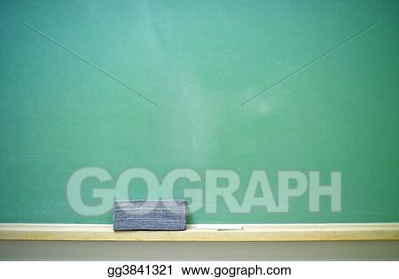 blank chalkboard horizontal