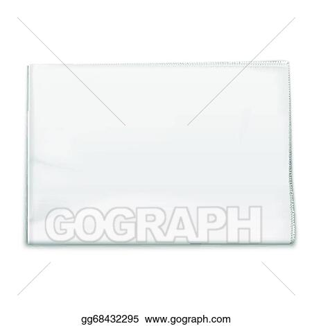 Eps Illustration Blank Newspaper Template On White Background