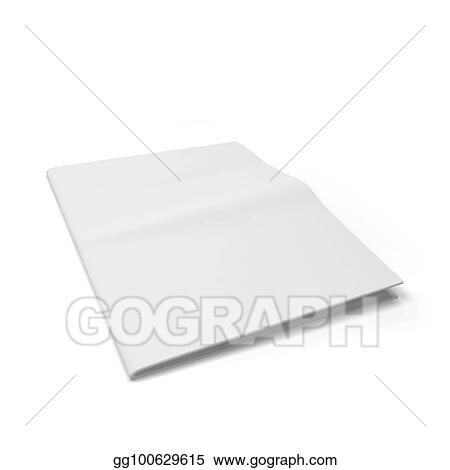 Stock Illustration Blank Newspaper Template Clipart Illustrations