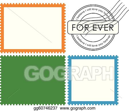 Blank Mail Stamp