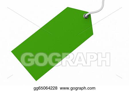 Stock Illustrations Blank Price Tag Stock Clipart Gg65064228