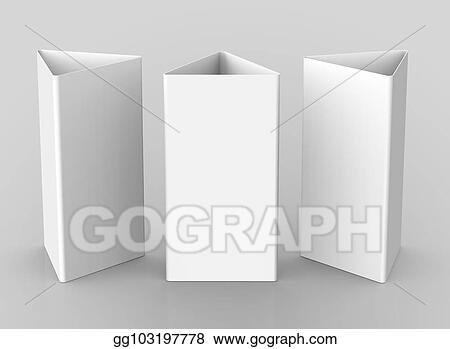 stock illustration blank table tent stock art illustrations