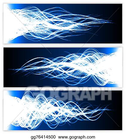Vector Art - Blessing effect with energy waves  Clipart