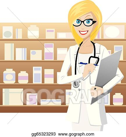 pharmacist clip art royalty free gograph rh gograph com pharmacy clip art free pharmacy clip art eps ai