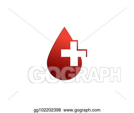 Stock Illustration Blood Donor Logo Clipart Drawing Gg102202398