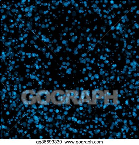 Eps Vector Blue And Black Color Abstract Water Bubbles