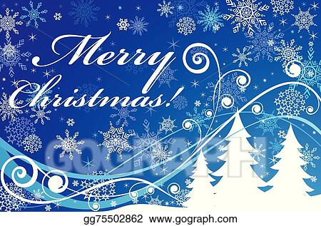 vector stock blue christmas background clipart illustration gg75502862 gograph https www gograph com clipart license summary gg75502862