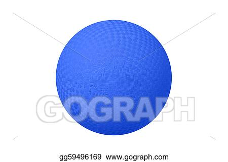 Stock Images Blue Dodge Ball Stock Photography Gg59496169 Gograph
