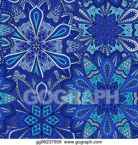 Boho Seamless Pattern Floral Png Seamless Boho Flowers Pattern Floral Pattern Digital Pattern Paper Scrapbooking PNG JPEG DrawBerry SP-090