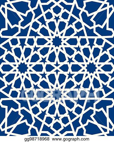 blue islamic pattern seamless arabic geometric pattern east ornament indian ornament persian motif 3d endless texture can be used for wallpaper pattern fills web page background gg98718968