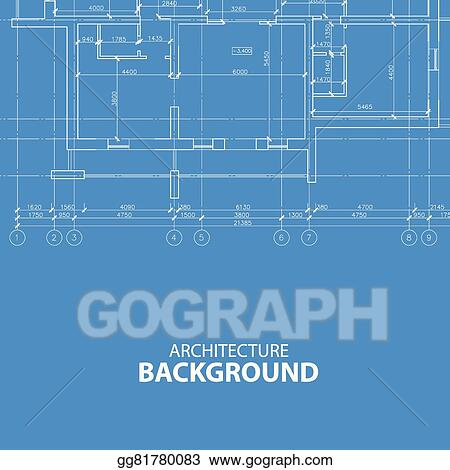 Vector clipart blueprint architecture background vector blueprint architecture background malvernweather Gallery