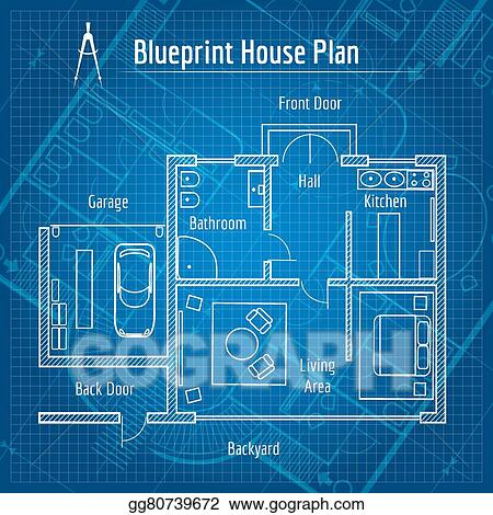 Vector art blueprint house plan clipart drawing gg80739672 gograph vector art blueprint house plan design architecture home drawing structure and plan vector illustration clipart drawing gg80739672 malvernweather Gallery
