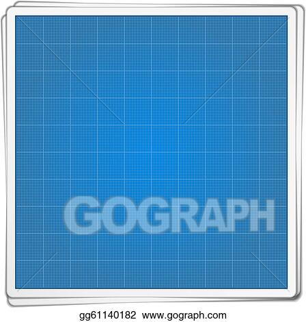 Vector art blueprint paper clipart drawing gg61140182 gograph blueprint paper malvernweather Gallery